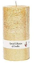 Parfumuri și produse cosmetice Lumânare naturală, 15 cm - Ringa Golden Glow Candle