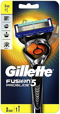 Aparat de ras cu 2 duze interschimbabile - Gillette Fusion 5 ProGlide Flexball — Imagine N1