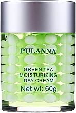 Parfumuri și produse cosmetice Cremă hidratantă de protecție pentru față, de zi - Pulanna Green Tea Moisturizing Day Cream