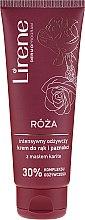 """Parfumuri și produse cosmetice Cremă de mâini """"Trandafir"""" - Lirene Rose Hand Cream"""