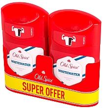 Parfumuri și produse cosmetice Deodorant-stick, 2x50ml - Old Spice Captain Deodorant Stick