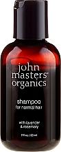 "Parfumuri și produse cosmetice Șampon ""Lavandă și Rozmarin"" - John Masters Organics Lavender Rosemary Shampoo (mini)"