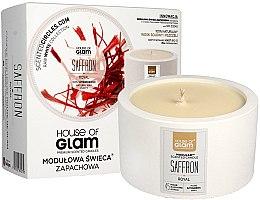 Parfumuri și produse cosmetice Lumânare aromată - House of Glam Royal Saffron Candle