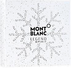 Parfumuri și produse cosmetice Montblanc Legend Spirit - Set (edt/100 ml + ash/balm/100 ml + sh/gel/100 ml)