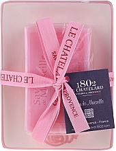 Parfumuri și produse cosmetice Săpun natural cu suport din ceramică - Le Chatelard Rose Soap