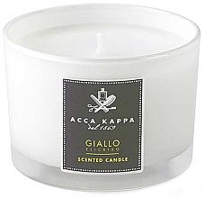 Parfumuri și produse cosmetice Acca Kappa Giallo Elicriso - Lumânare parfumată în suport de sticlă