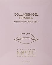 Parfumuri și produse cosmetice Коллагеновая маска для губ - Pierre Rene Medic Collagen Gel Lip Mask