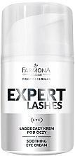 Parfumuri și produse cosmetice Cremă calmantă pentru ochi - Farmona Professional Expert Lashes Soothing Eye Cream