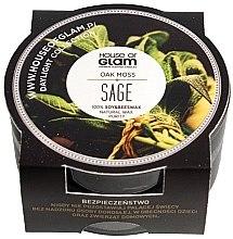 Parfumuri și produse cosmetice Lumânare parfumată - House of Glam Oak Moss Sage Candle (mini)