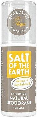 Deodorant-spray - Salt of the Earth Amber & Sandalwood Natural Deodorant Spray — Imagine N1