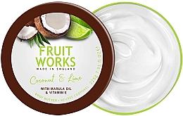 Parfumuri și produse cosmetice Ulei de corp - Grace Cole Fruit Works Body Butter Coconut & Lime