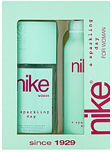 Parfumuri și produse cosmetice Nike Sparkling Day Woman - Set (deo/200ml + deo/spray/75ml)