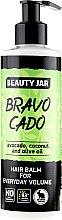 "Parfumuri și produse cosmetice Balsam de păr pentru volum ""Bravocado"" - Beauty Jar Hair Balm For Everyday Volume"