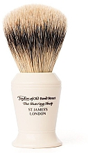 Parfumuri și produse cosmetice Pămătuf de ras, S376 - Taylor of Old Bond Street Shaving Brush Super Badger size L