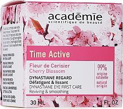 Духи, Парфюмерия, косметика Крем для контура глаз с разглаживающим эффектом - Academie Time Active Cherry Blossom Dynastiane Eye First Care