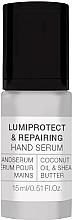 Parfumuri și produse cosmetice Ser pentru mâini - Alessandro International Spa Lumiprotect & Repairing Hand Serum