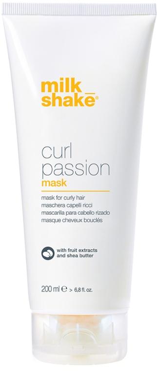Mască pentru păr creț - Milk Shake Curl Passion Mask — Imagine N1