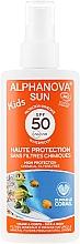 Parfumuri și produse cosmetice Spray cu protecție salară pentru copii - Alphanova Sun Kids SPF 50+