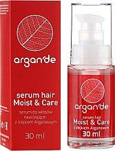 Parfumuri și produse cosmetice Ser pentru păr - Stapiz Argan'de Moist & Care Serum