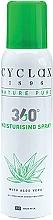 Parfumuri și produse cosmetice Спрей для тела с алоэ вера - Cyclax Nature Pure 360 Degree All Over Body Hydrating Spray With Aloe Vera