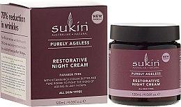 Parfumuri și produse cosmetice Cremă de noapte pentru față - Sukin Purely Ageless Restorative Night Cream