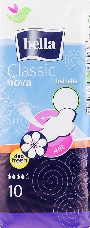 Absorbante Classic Nova Deo Fresh, 10buc. - Bella