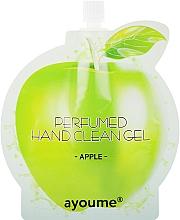 """Parfumuri și produse cosmetice Cremă antiseptică pentru mâini """"Măr"""" - Ayoume Perfumed Hand Clean Gel Apple"""