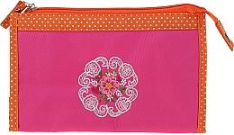 """Parfumuri și produse cosmetice Trusă cosmetică """"Mandala"""", 98147, purpuriu-orange - Top Choice"""