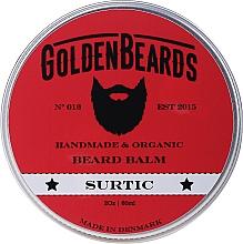 """Parfumuri și produse cosmetice Balsam pentru barbă """"Surtic"""" - Golden Beards Beard Balm"""