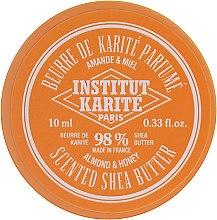 Parfumuri și produse cosmetice Unt de shea cu aromă de migdale și miere 98% - Institut Karite Almond Honey Scented Shea Butter