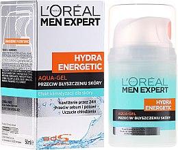 "Parfumuri și produse cosmetice Gel hidratant ""Efect glacial"" - L'Oreal Paris Men Expert Hydra Energetic"