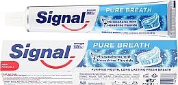 Parfumuri și produse cosmetice Pastă de dinți - Signal Pure Breath Toothpaste