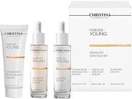 Parfumuri și produse cosmetice Set - Christina Forever Young (ser/30ml + ser/30ml + cr/50ml)