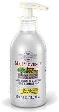 "Parfumuri și produse cosmetice Жидкое Марсельское мыло ""Лимон"" - Ma Provence Liquid Marseille Soap Lemon"
