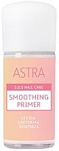 Parfumuri și produse cosmetice Primer cu efect de netezire pentru unghii - Astra Make-up Sos Nails Care Smoothing Primer