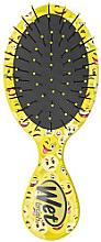 Parfumuri și produse cosmetice Perie de păr compactă, galbenă - Wet Brush Squirt Happy Hair