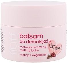 "Parfumuri și produse cosmetice Balsam demachiant ""Zmeură și migdale"" - Fluff Makeup Removing Melting Balm"