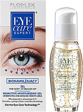 Parfumuri și produse cosmetice Gel Bio Activ hidratant pentru ochi - Floslek Eye Care Bioactive Moisturizing Gel Under Eyes And Around Mouth Area
