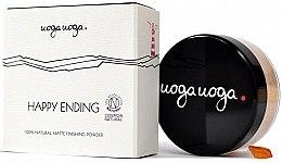 Parfumuri și produse cosmetice Pudră matifiantă pentru față - Uoga Uoga Happy Ending Finishing Powder
