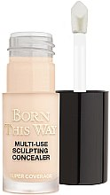 Parfumuri și produse cosmetice Concealer pentru față - Too Faced Born This Way Multi-Use Sculpting Concealer (mini)