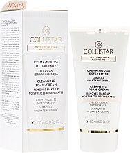 Parfumuri și produse cosmetice Mousse-cremă de față - Collistar Cleansing Foam-Cream Removes Make-Up