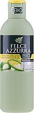 """Parfumuri și produse cosmetice Gel de duș """"Aloe și Lămâie"""" - Felce Azzurra BIO Aloe & Lemon Shower Gel"""
