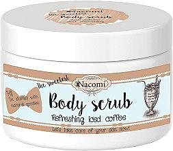 Parfumuri și produse cosmetice Scrub pentru corp cu unt de shea și cafea - Nacomi Natural Body Scrub Refreshing Iced Cofee