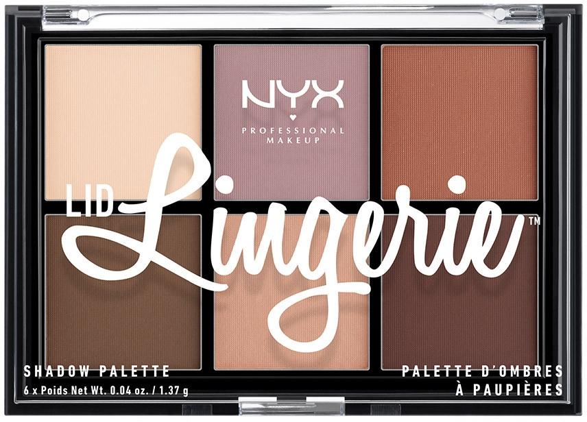 Paleta fard de ochi - NYX Professional Makeup Lingerie Shadow Palette