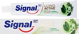 Parfumuri și produse cosmetice Pastă de dinți pentru protecția gingiilor - Signal Long Active Natural Elements