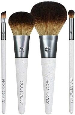 Set pensule de machiaj, 4 bucăți - EcoTools On-The Go Style — Imagine N1