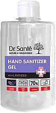 Parfumuri și produse cosmetice Gel dezinfectant antibacterian cu lavandă pentru mâini - Dr. Sante Antibacterial Hand Sanitizer Gel With Lavender