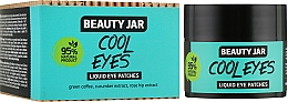 "Parfumuri și produse cosmetice Patch-uri lichide sub ochi ""Cool Eyes"" - Beauty Jar Liquid Eye Patches"