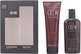 Parfumuri și produse cosmetice Set - American Crew Daily Duo Gift Set (shm/250ml + gel/250ml)