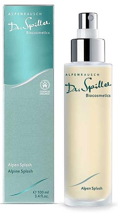 Освежающий спрей для лица и тела - Dr. Spiller Alpen Splash — фото N1